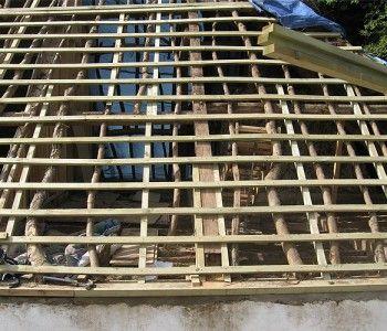 Milton Abbas (re-timbering)