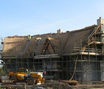 Thatch Ridging and repair in Wimborne, Dorset