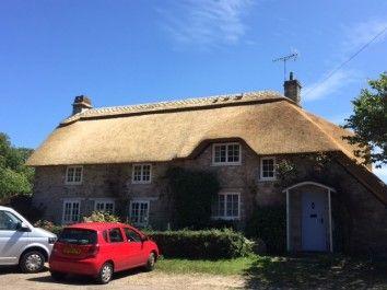 Thatch Ridging In Dorset
