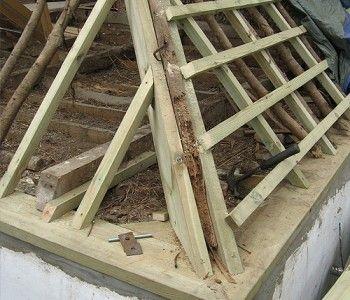 Milton Abbas (timber roof repair)
