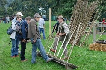 Hurdle Making demonstration
