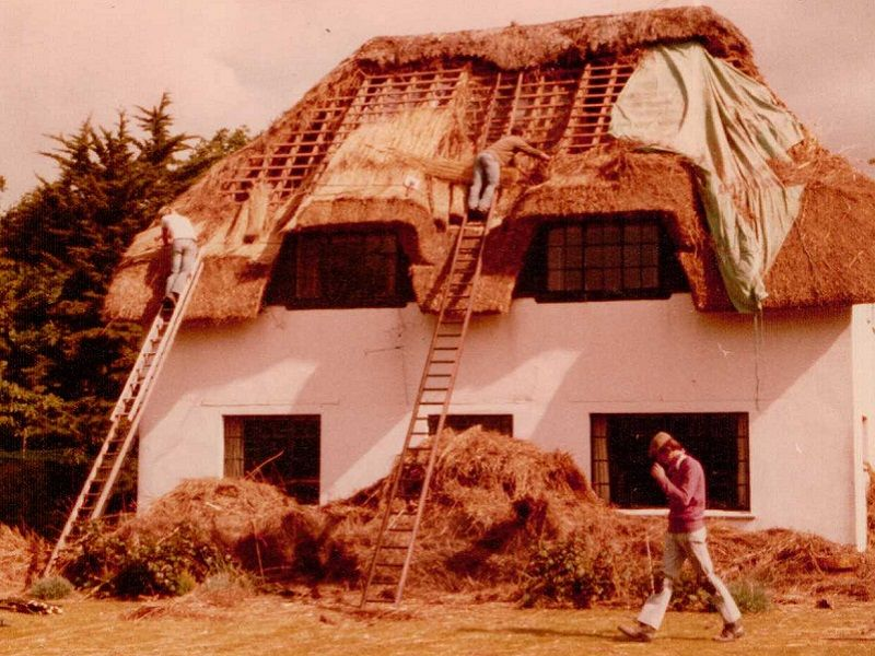Our Time As The Best Thatching Company In Dorset